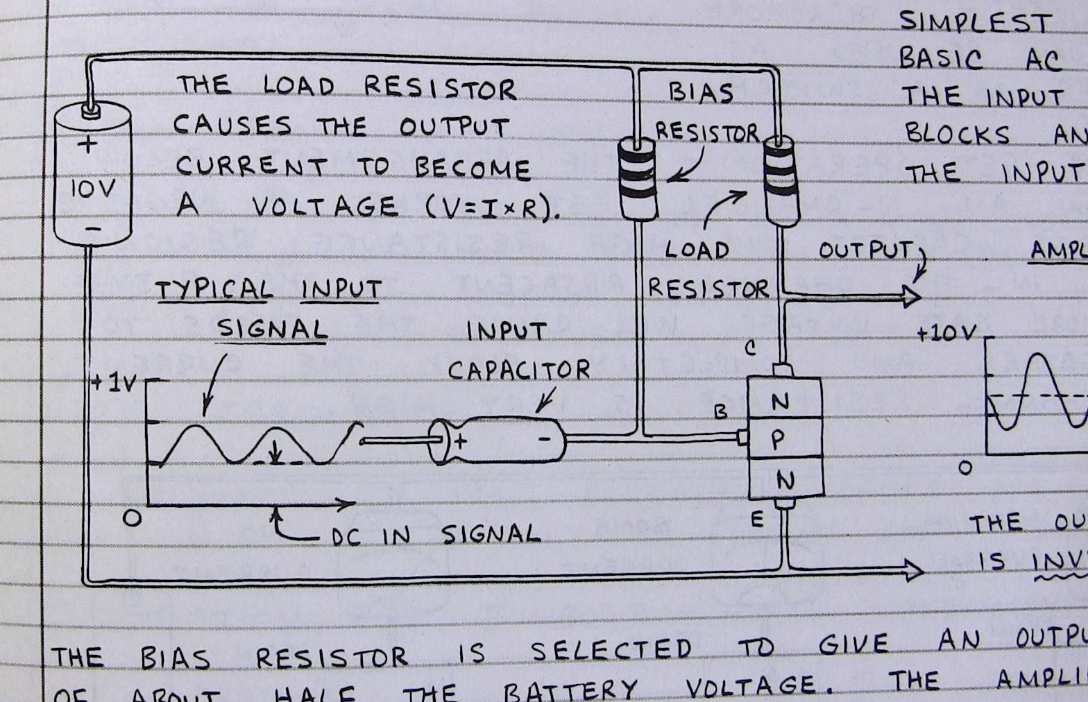 Handwritten Books Julia Evans Circuit Diagram Book Getting Started In Electronics